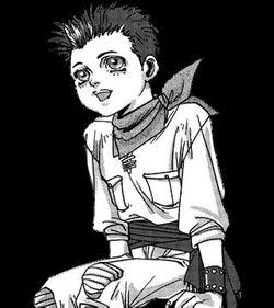 Dan drawn by manga artist, Saiko Takaki