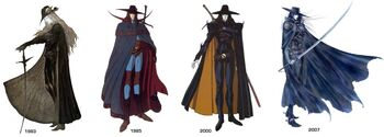 Vampire Hunter D Profile designs