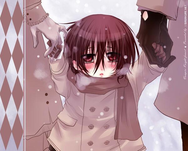 File:Chibi Kaname in the snow by Sagakure.jpg