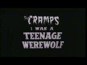 """The Cramps """"Teenage Werewolf"""" Fan Video"""