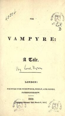 Vampyre cover