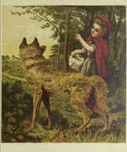 Little Red Riding-Hood picture book (1865)