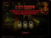 New Crypt promo
