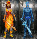 The Fire And Ice set
