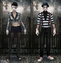 The Carnival Mime set