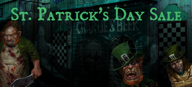 St Patricks Day Sale Ad