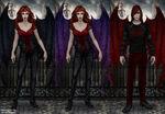 The Devil Wings set