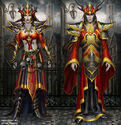 The Warlord set