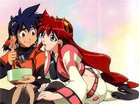 Hibiki and Dita