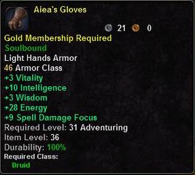 Aiea's Gloves