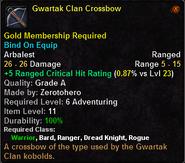 Gwartak Clan Crossbow