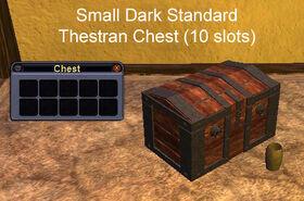Small Dark Standard Thestran Chest
