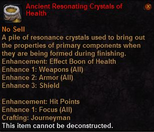 Ancient resonating crystals health