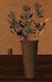 Tall flower pot