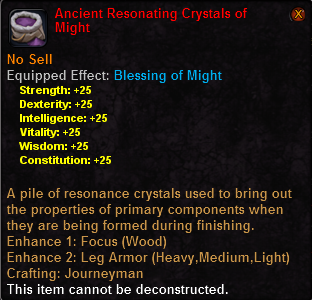 Ancient resonating crystals might