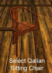 Select Qalian Sitting Chair
