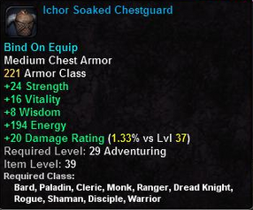 Ichor Soaked Chestguard