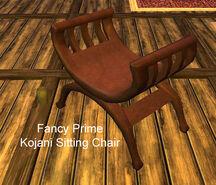 Fancy Prime Kojani Sitting Chair