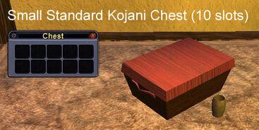 Small Standard Kojani Chest