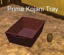 Prime Kojani Tray