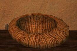 Shallow firegrass thestran basket