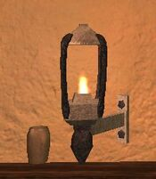 Pyrite thestran wall lantern