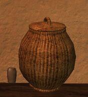 Medium firegrass thestran basket