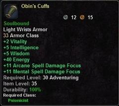 Obin's Cuffs