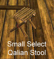 Small Select Qalian Stool