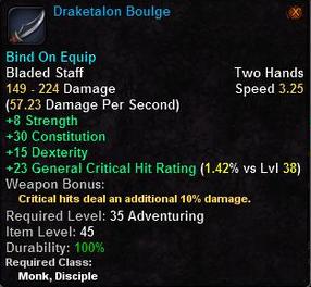 Draketalon Boulge
