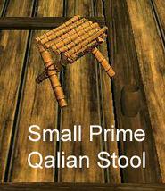 Small Prime Qalian Stool