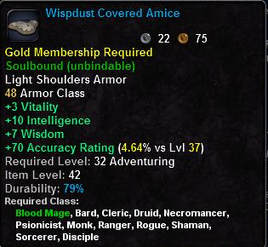 Wispdust Covered Amice