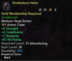 Elrethalon's Helm