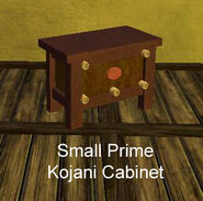 Small Prime Kojani Cabinet