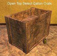 Open Top Select Qalian Crate