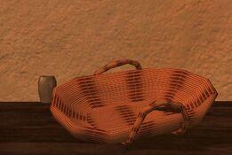 Shallow silkbloom qalian basket