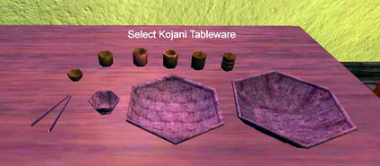 Select Kojani Tableware
