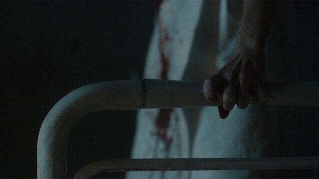 File:It Begins 1x13 Vanessa bends rail with super strength.jpg