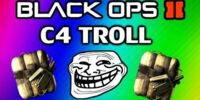 Black Ops 2: C4 Glitch Trolling - Suicide Troll on Drone (Montage and Tutorial / Funny Moments)/Transcript