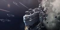 US space battleship