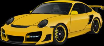 File:Porsche 911 GT3 yellow.png