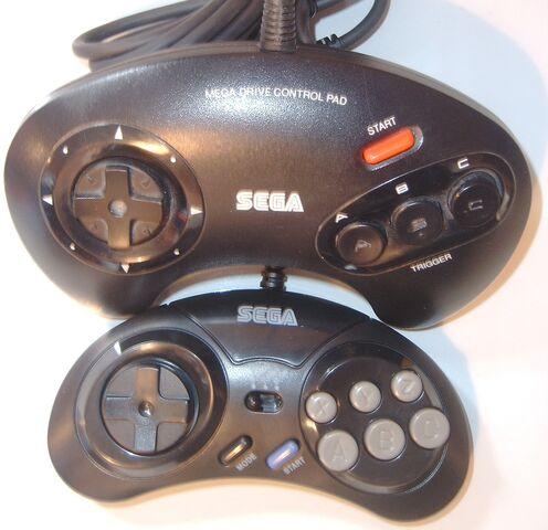 File:Mega Drive Controllers.jpg