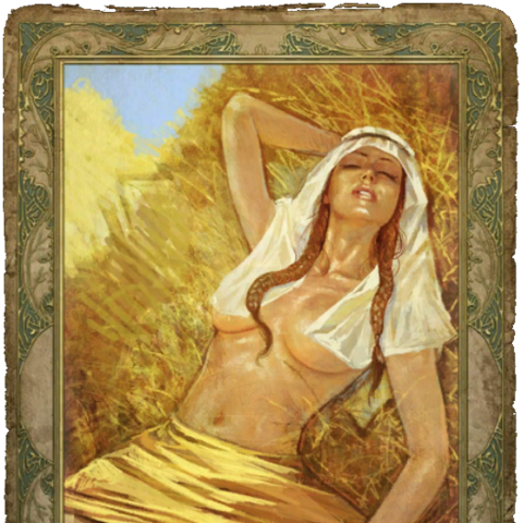 Секс-карточка с крестьянкой,