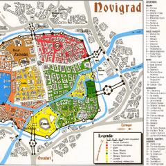 Карта Новиграда