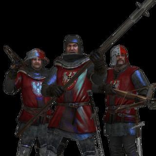 Реданские солдаты в игре Ведьмак 2