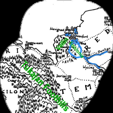 Возможная карта страны