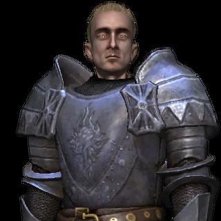 Зигфрид в броне Магистра Ордена Пылающей Розы
