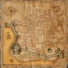 Карта Храмового квартала