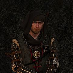 Вернон Роше в альфа-версии игры