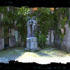 Статуя Мелитэле в Купеческом квартале